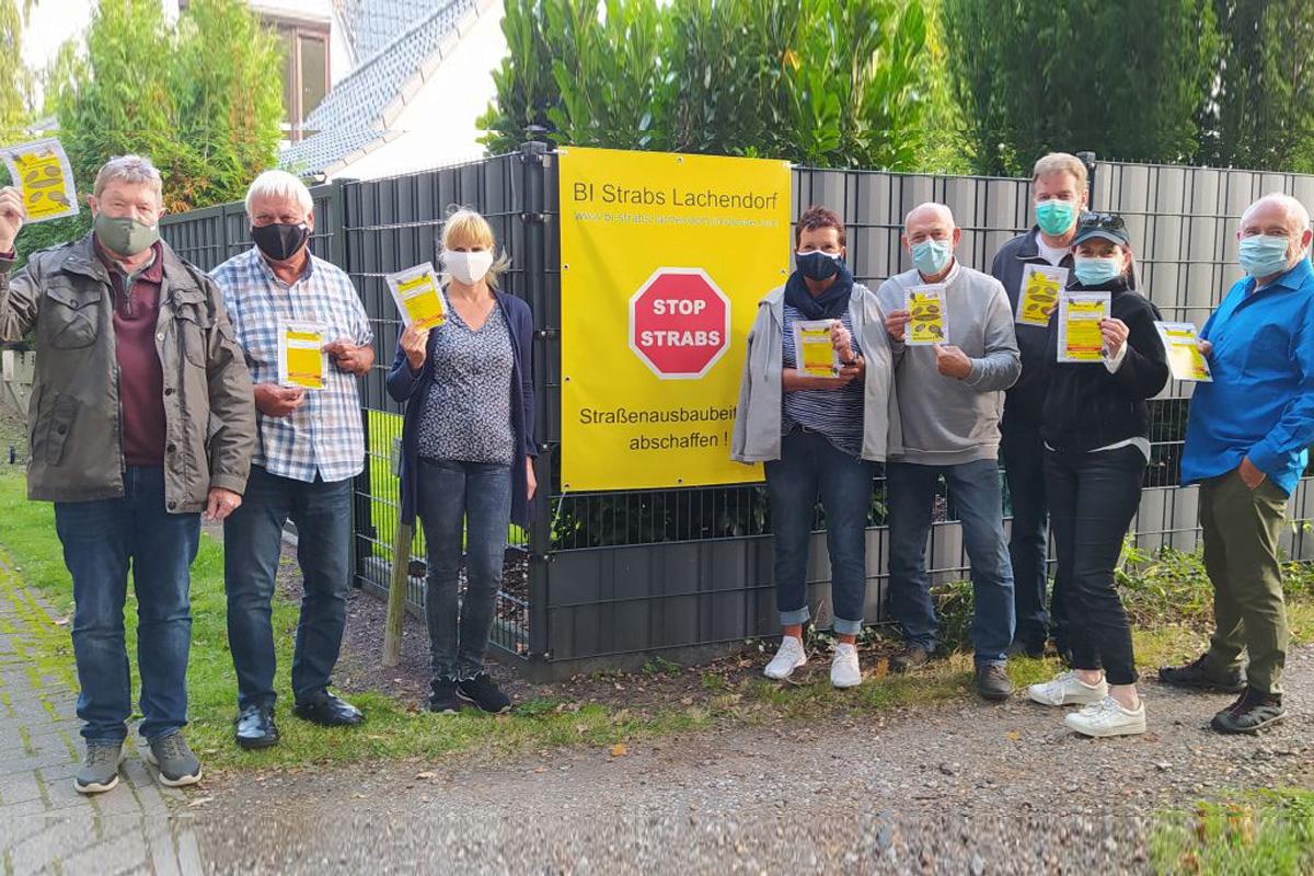 Umstrittene Befragung zur Straßenausbaufinanzierung: Bürgerinitiative Strabs Lachendorf plädiert für NICHTABGABE