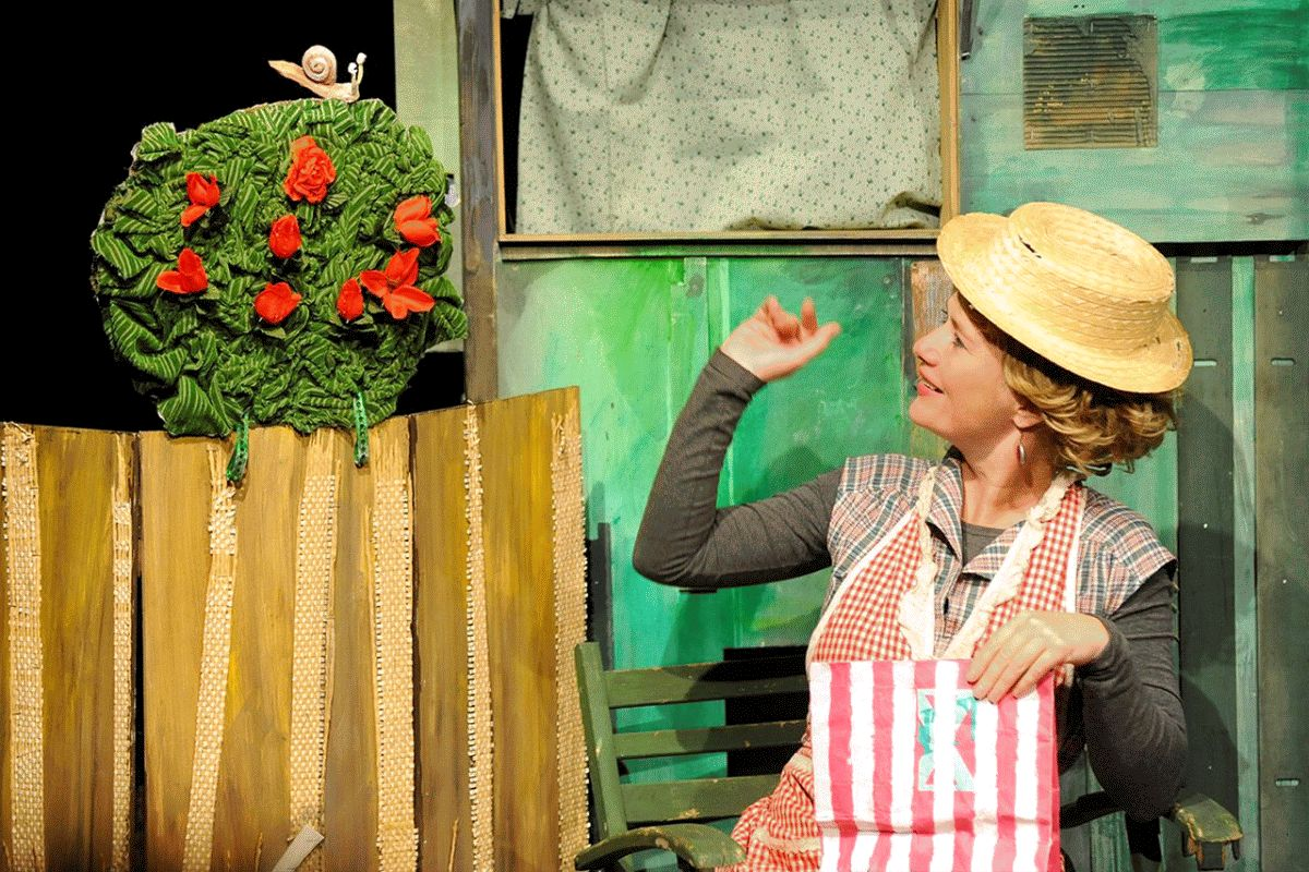 Frederick, eine fantastische Mäusegeschichte! – gespielt vom Kindertheater Luftundleo aus Bremen