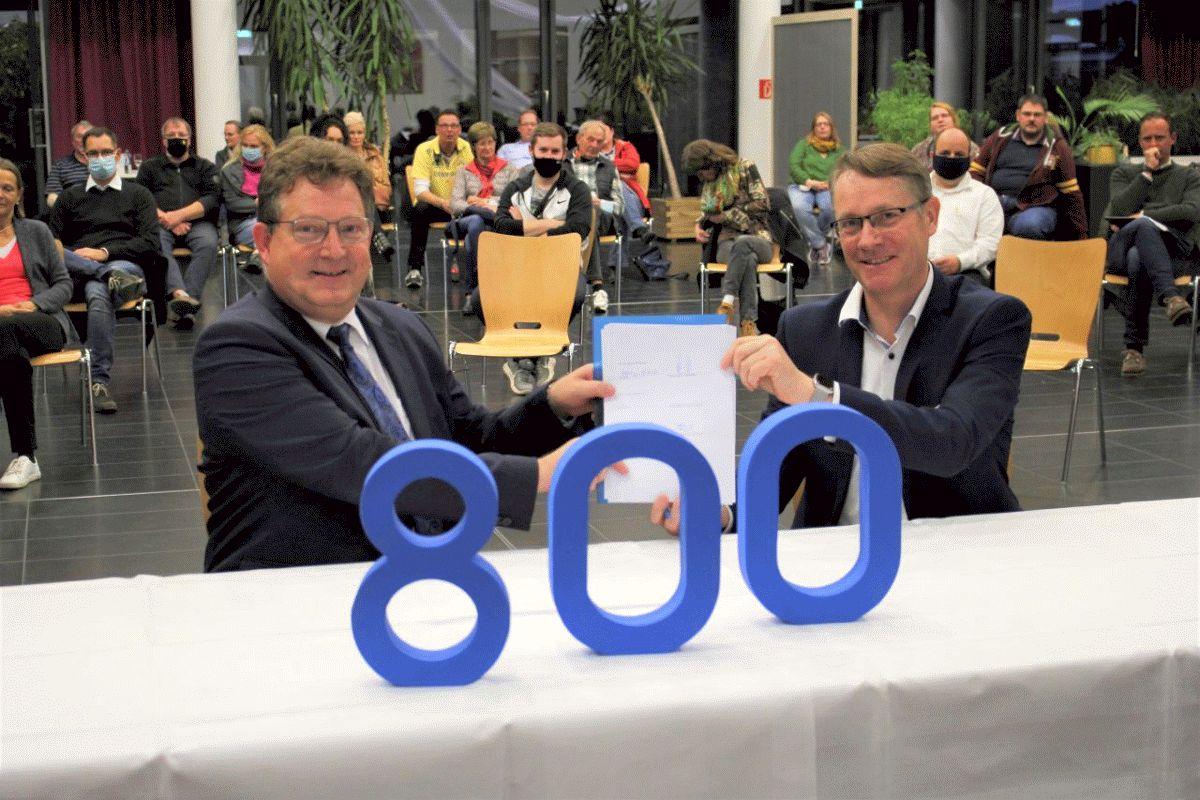 Gemeinde Wathlingen und SVO unterzeichnen Kooperationsvertrag zum Wathlinger Bürgernetz