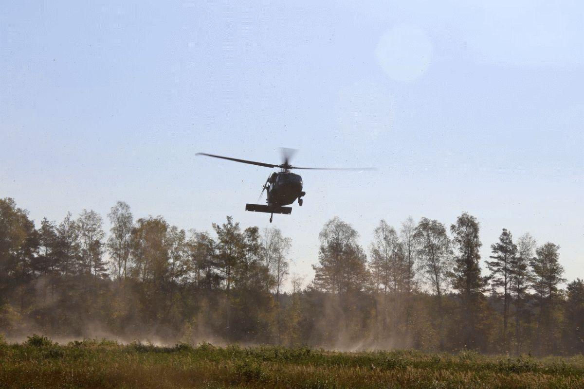 Intensives Training für angehendes militärisches Führungspersonal