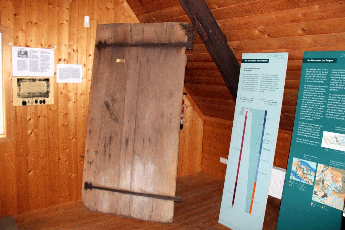 Kapellentür aus Römstedtmuseum reist nach Stade