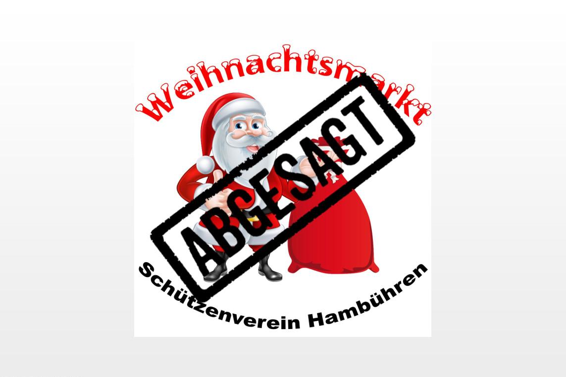 Kein Weihnachtsmarkt am Schützenhaus in Hambühren