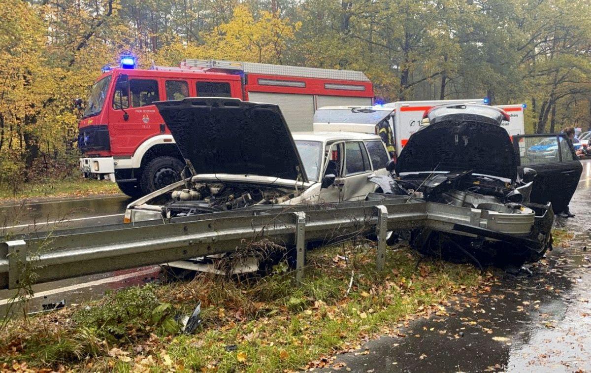 Verkehrsunfall auf der B214! *** aktualisiert