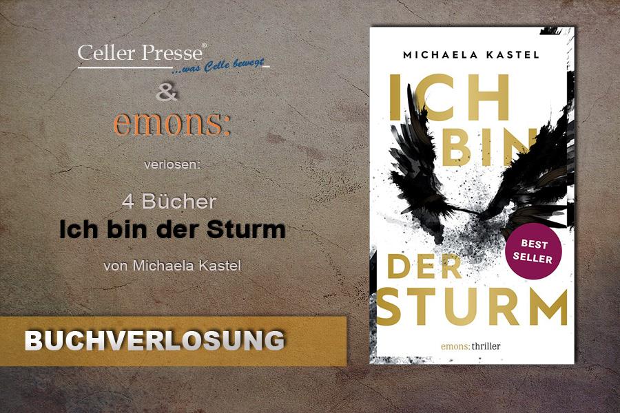 """Buchverlosung """"Ich bin der Sturm"""""""