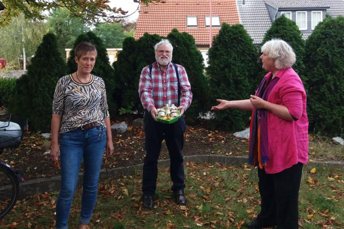 Wechsel im Vorstand der Grünen im Ortsverband Eschede-Lachendorf – Ellen Hagemann löst Gernot Busch ab