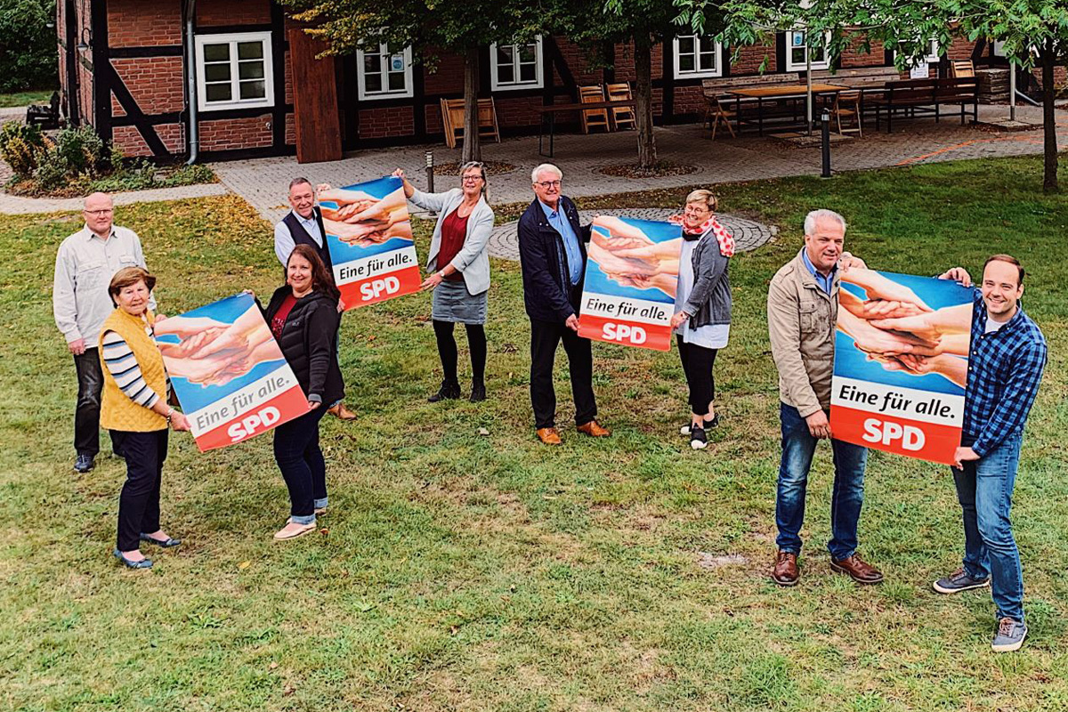 Winser SPD erinnert an Gründung des Ortsvereins vor 75 Jahren – Jubiläumsfeier wird in 2021 nachgeholt