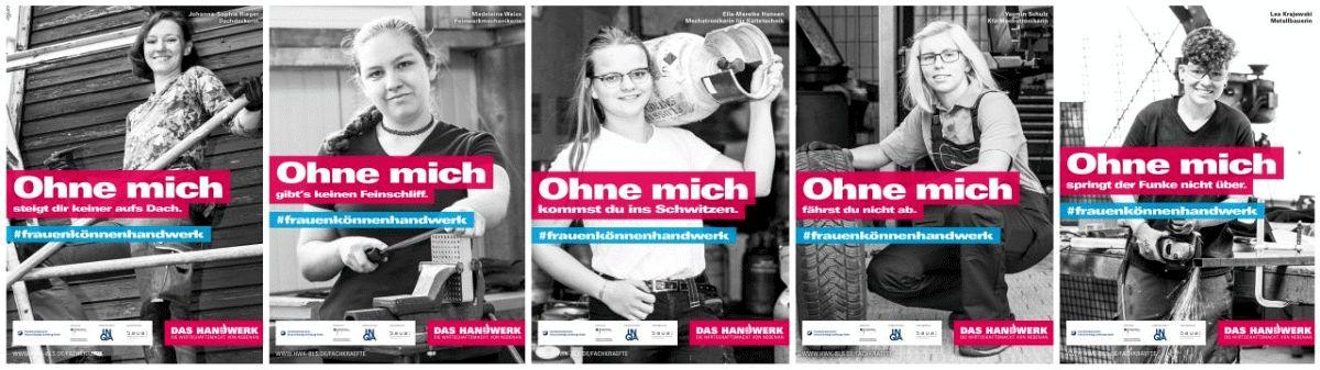 #frauenkönnenhandwerk – Handwerkskammer Braunschweig-Lüneburg-Stade startet Kampagne für mehr Frauen im Handwerk