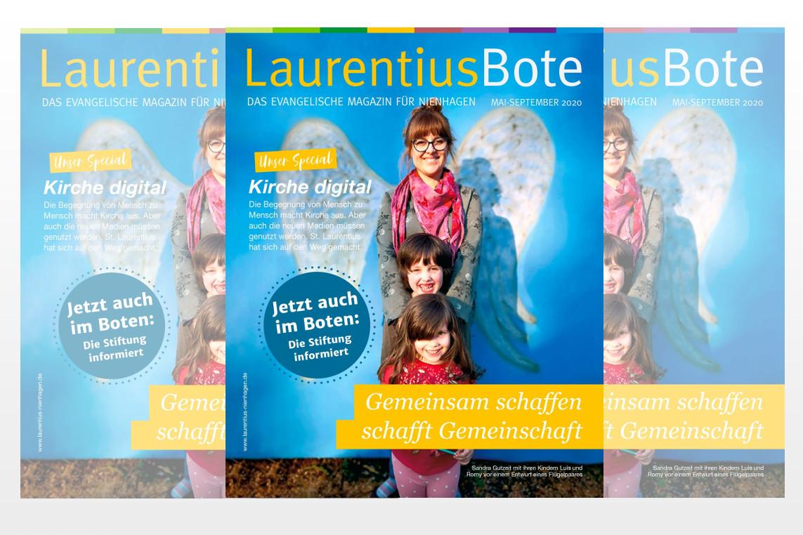 """""""Gemeindebriefpreis 2020"""" der Landeskirche: """"Laurentiusbote"""" auf Platz 1"""