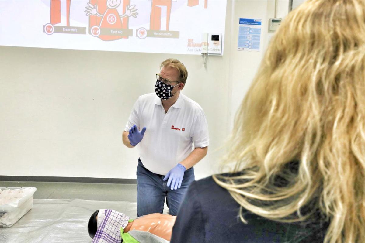 Auch im Lockdown: Erste Hilfe tut immer not – Johanniter bieten weiterhin Kurse an allen Standorten an