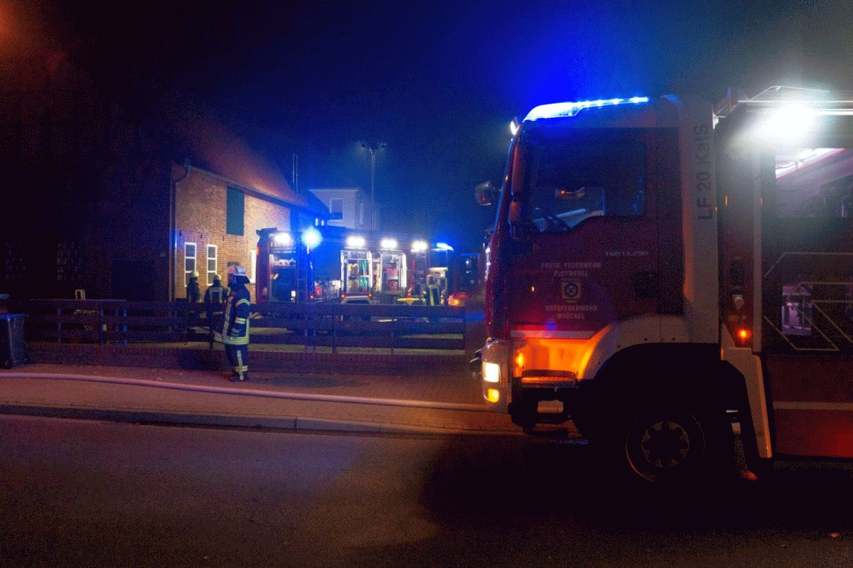 Kaminofen sorgt für Feuerwehreinsatz