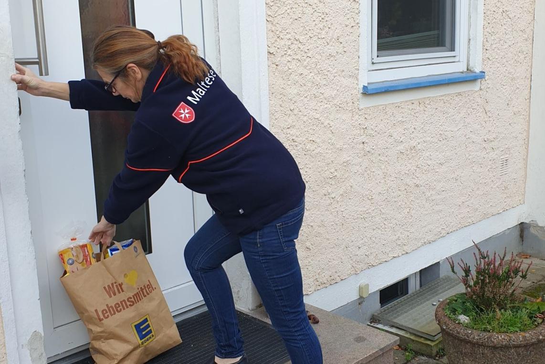 """Malteser Hilfsdienst mit """"Einkaufshilfe für Celle"""""""