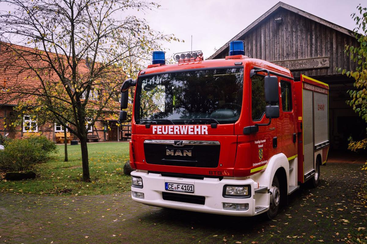 Ortsfeuerwehr Bockelskamp erhält neues Einsatzfahrzeug