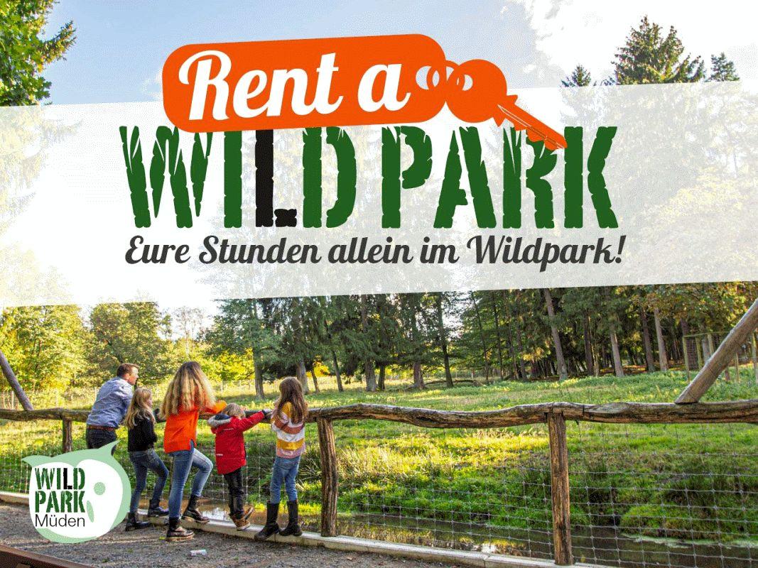 Rent a Wildpark – Eure Stunden allein im Wildpark Müden