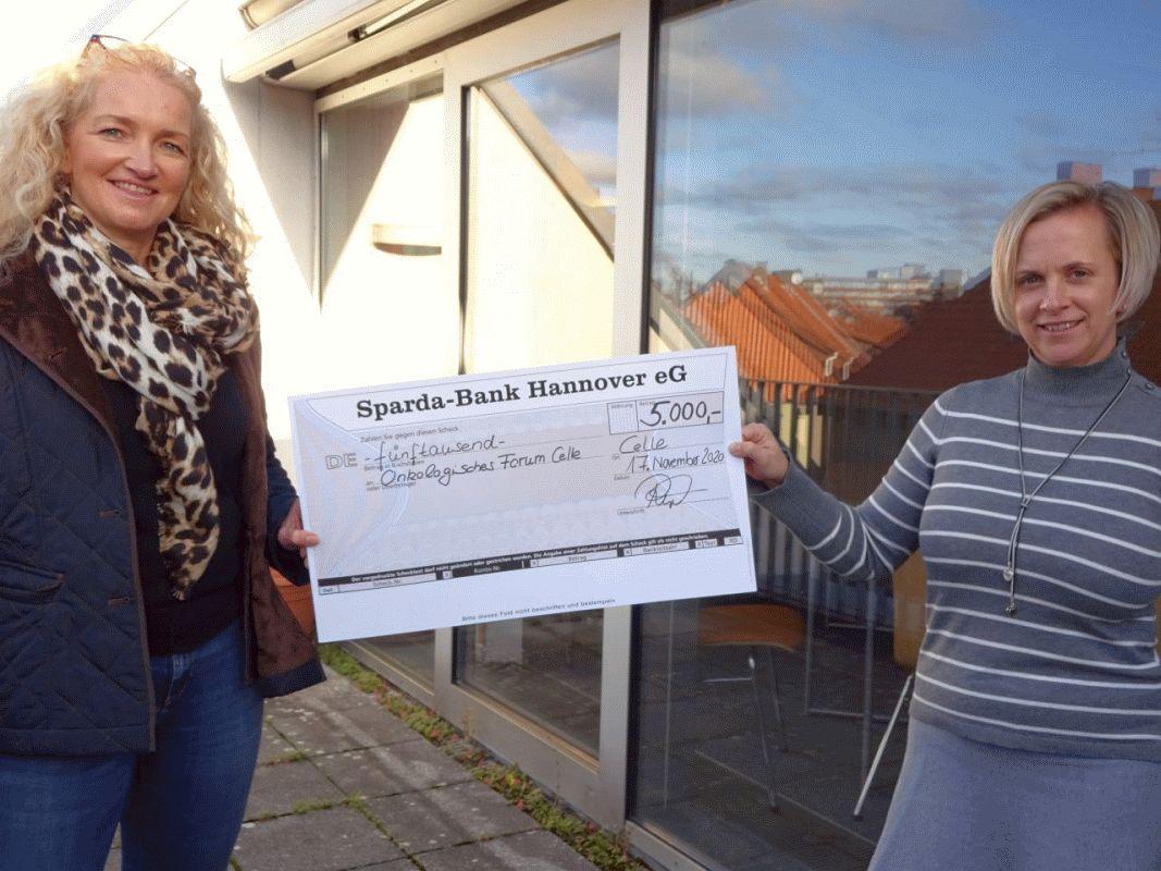 Stiftung der Sparda-Bank fördert Arbeit des Palliativdienstes