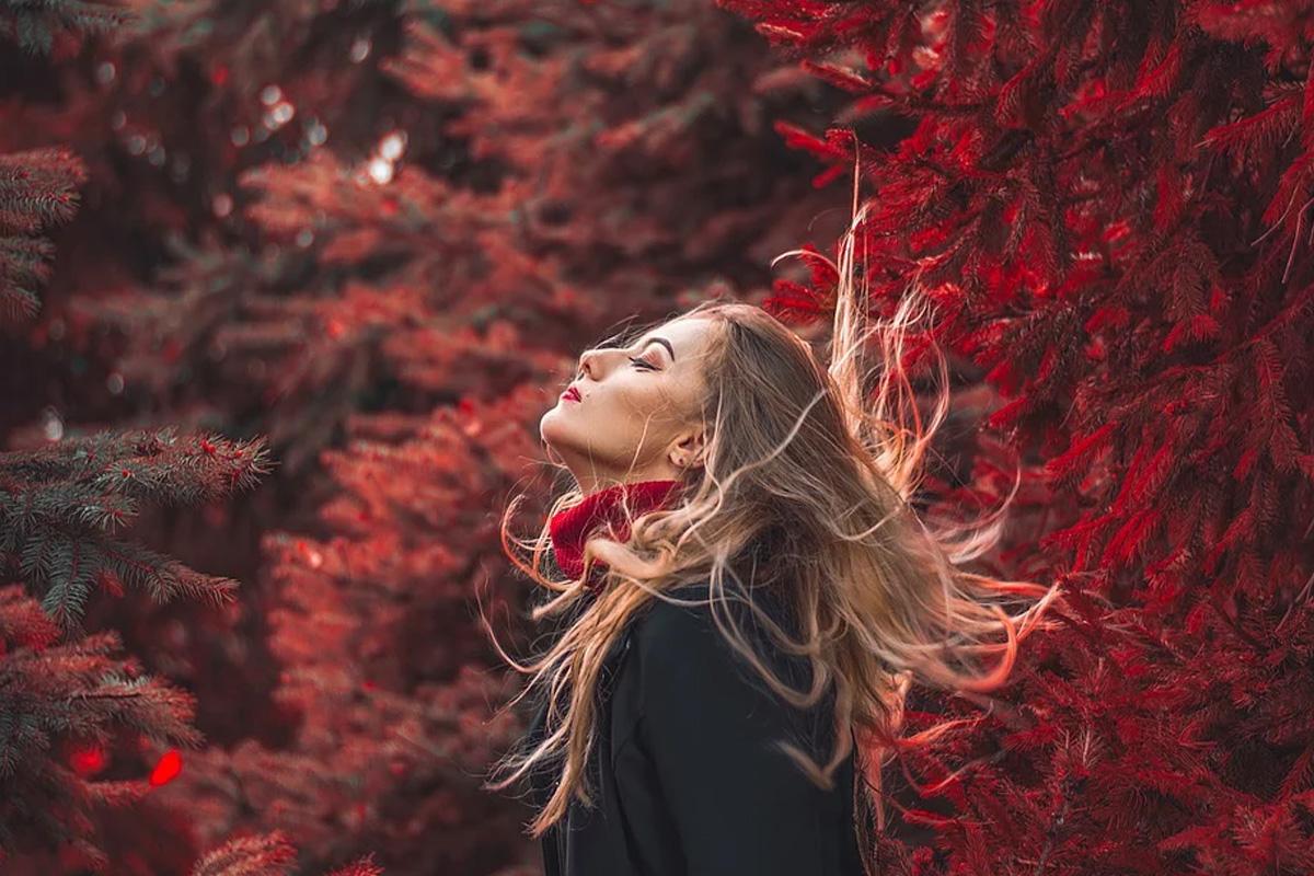 Stylische Herbstmode