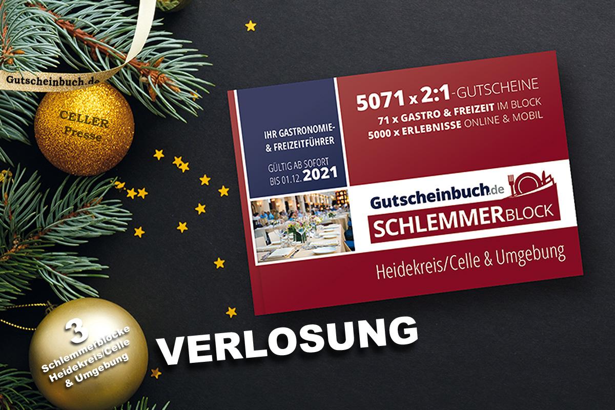 Schlemmerblock-Weihnachts-Verlosung