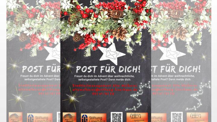 """""""Post Für Dich!"""" – Weihnachtsaktion des Stadtteilmanagements"""