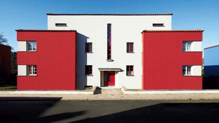 Bauhaus-Postkarten als Botschafter für Celle:  Haeslerbauten in Farbe – unbekannt und wunderschön