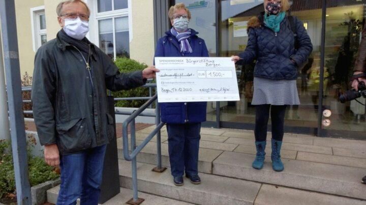 Bürgerstiftung Bergen fördert Onkoforum