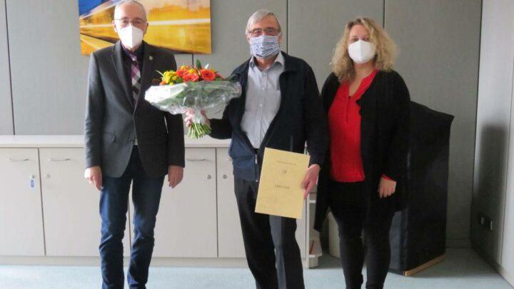 Claas Pfeil in den Ruhestand verabschiedet