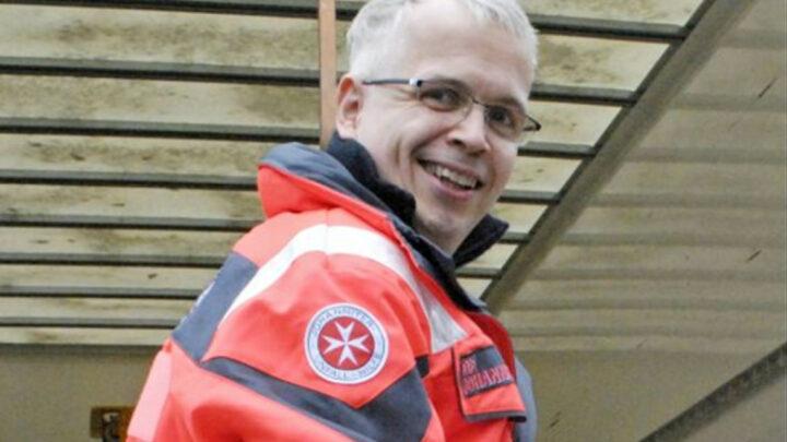 Eine Familienangelegenheit – Tag des Ehrenamts: Johanniter Dirk Hoppenstedt hat vor 18 Jahren als Zivi begonnen