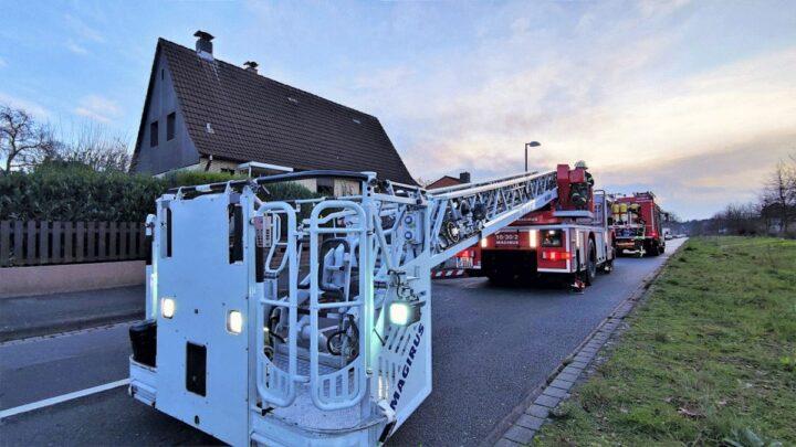 FW Celle: Schornsteinbrand