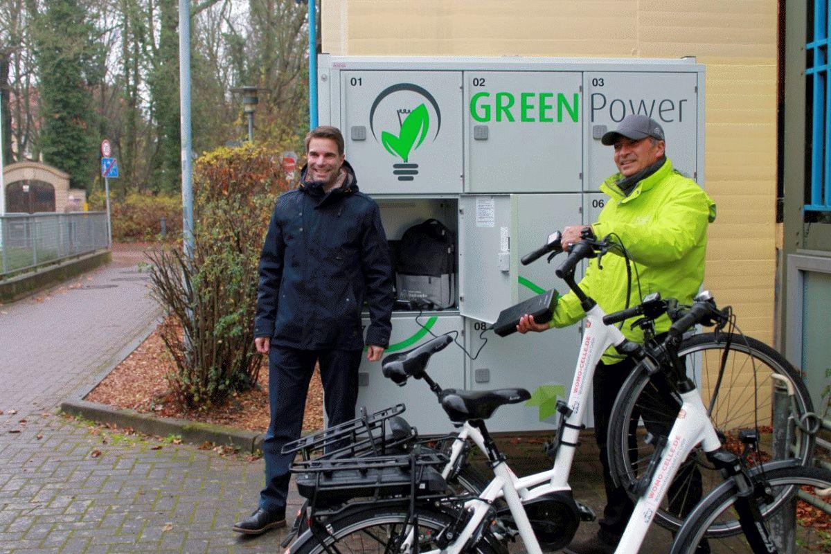 Fahrradstadt Celle bietet Radtouristen besonderen ServiceGroße Sachen am Südwall gut aufgeboben