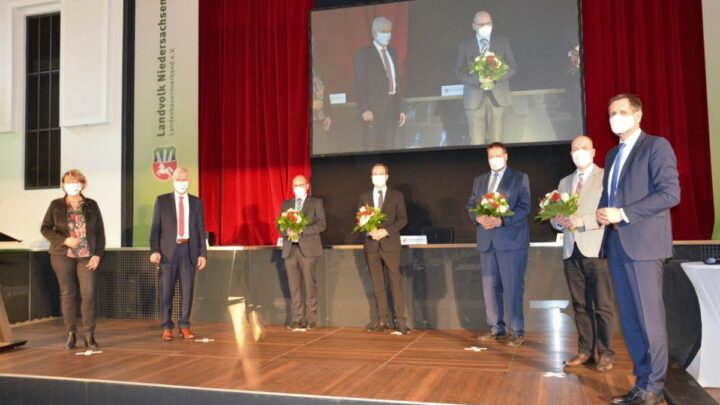 Hennies neuer Präsident des Landvolks Niedersachsen – Landwirt aus Schwüblingsen setzt sich gegen Mitbewerber Ehlers durch
