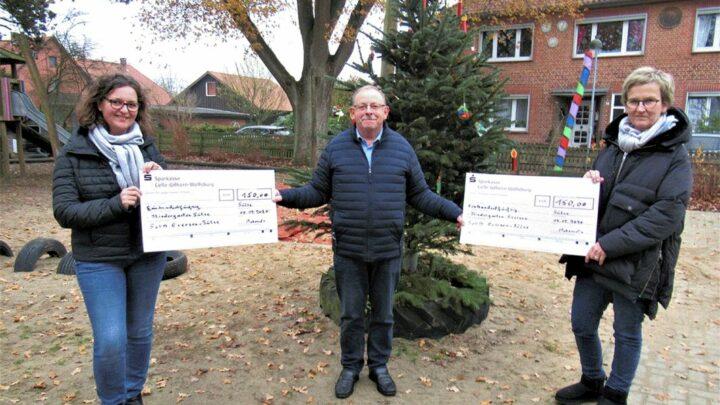 KiTas freuen sich über Spende vom SoVD Ortsverband Eversen-Sülze