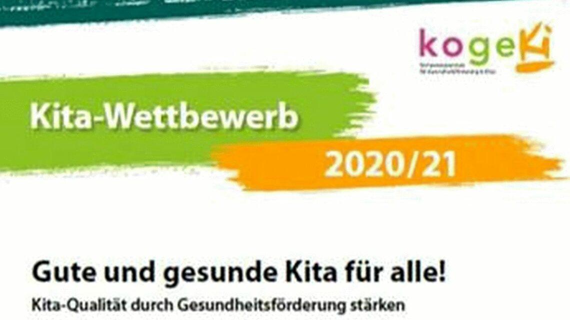 Kita-Preis Gesundheitsförderung: Bewerben bis zum 31. Dezember!