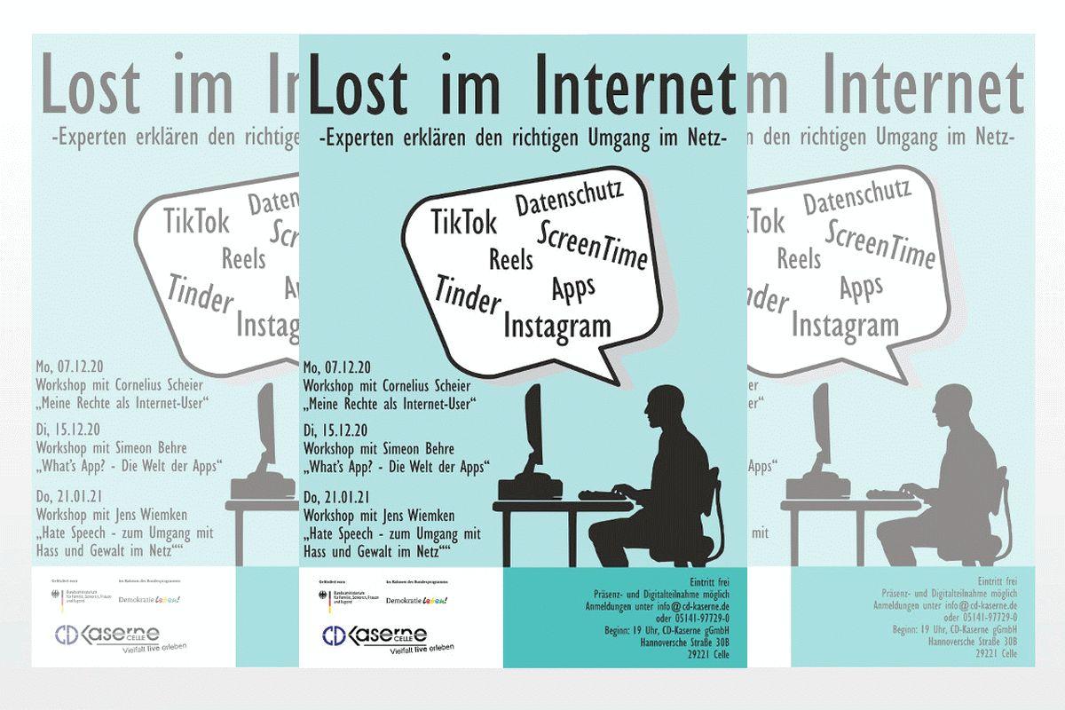 Lost im Internet? – Experten erklären den richtigen Umgang im Netz – Live-Online-Workshops der CD-Kaserne führen Erwachsene in die Welt des Internets von Kindern und Jugendlichen ein