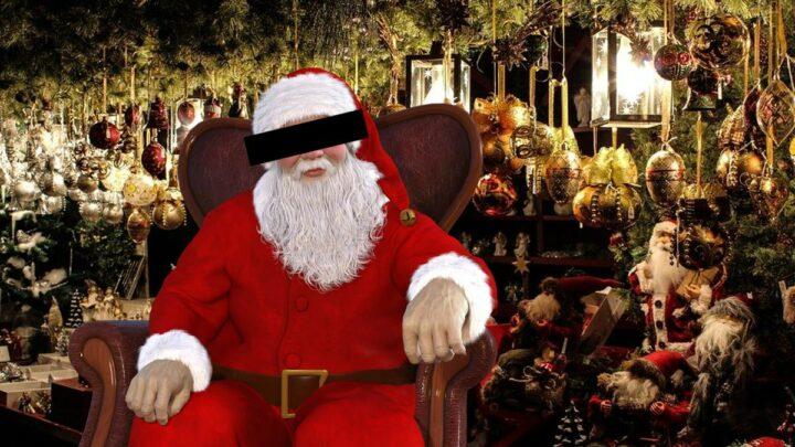 Polizei verhaftet Weihnachtsmann