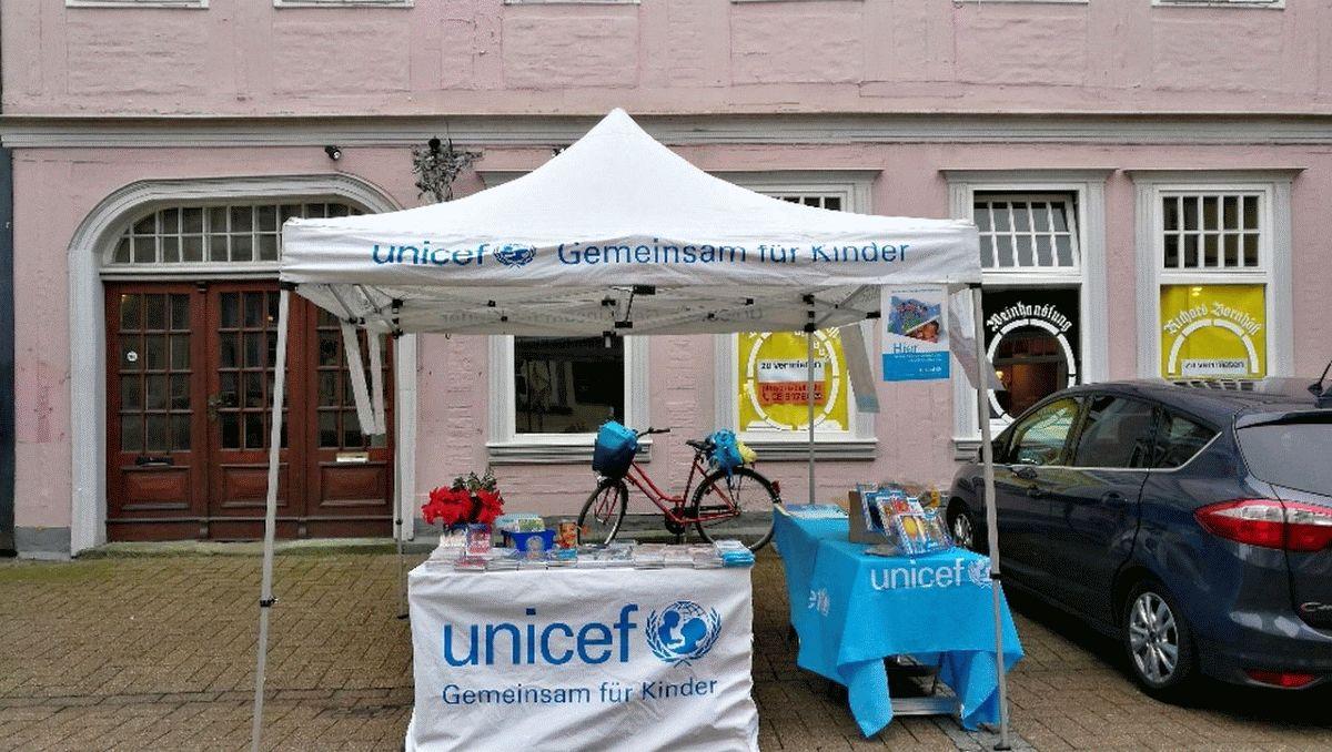 UNICEF Celle: Verkauf von Grußkarten auch ohne Weihnachtsmarkt