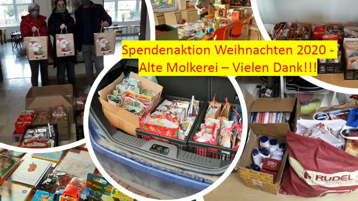 """""""Spendenaktion für die Tafel e.V.!"""" –  Weihnachtsaktion des Stadtteilmanagements"""