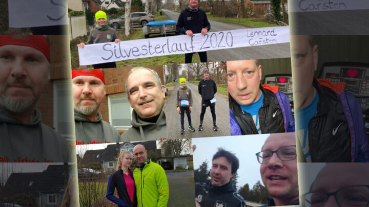 Adelheidsdorfer Lauf-AG läuft Silvesterlauf auf ihre eigene Weise