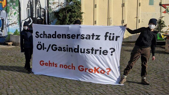 """Fridays for Future Celle – Bundesweite Aktionen """"Gas ist keine Brückentechnologie!"""""""