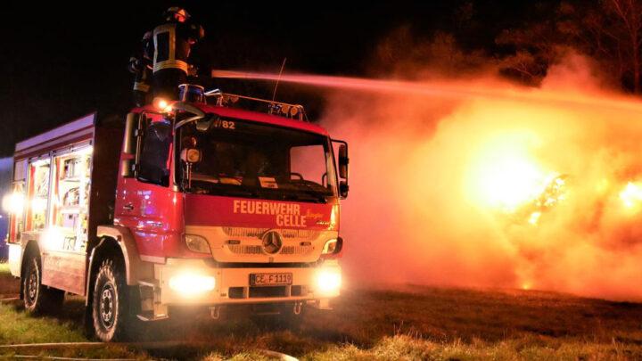 Jahresrückblick 2020 – 517 Einsätze für die Freiwillige Feuerwehr Celle