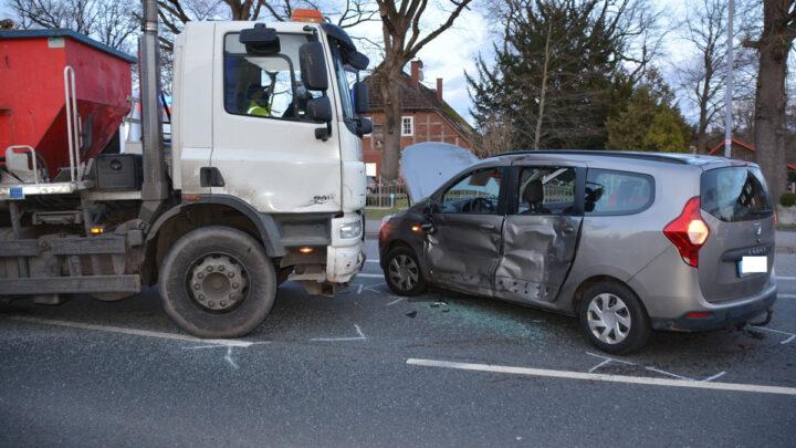 Verkehrsunfall mit glimpflichem Ausgang in Wietze