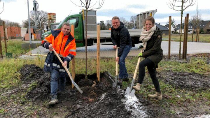Wirtschaftsjunioren spenden Obstbäume für Neubaugebiete