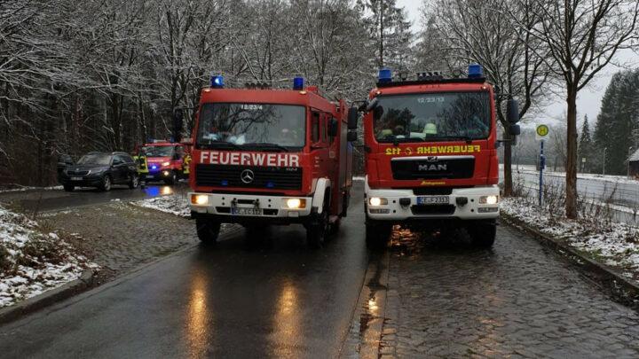 eCall ruft Feuerwehr auf den Plan