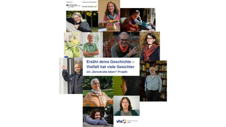 """vhs Celle zeigt virtuelle Fotoausstellung – Projekt """"Erzähl deine Geschichte – Vielfalt hat viele Gesichter"""""""