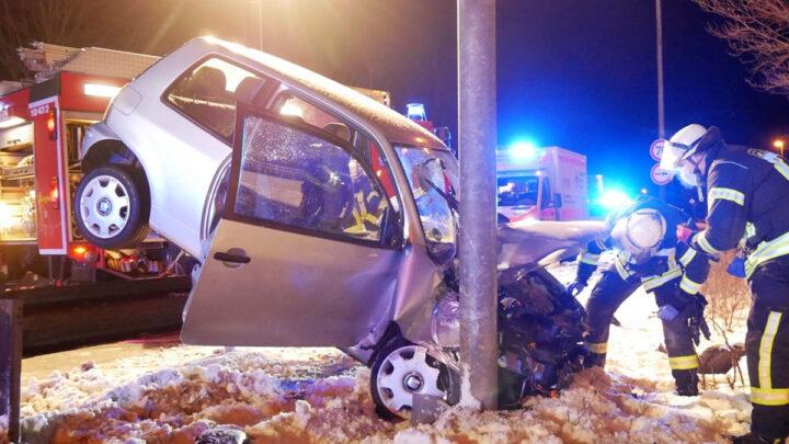 Schwerer Unfall auf dem Wilhelm-Heinichen-Ring *** aktualisiert