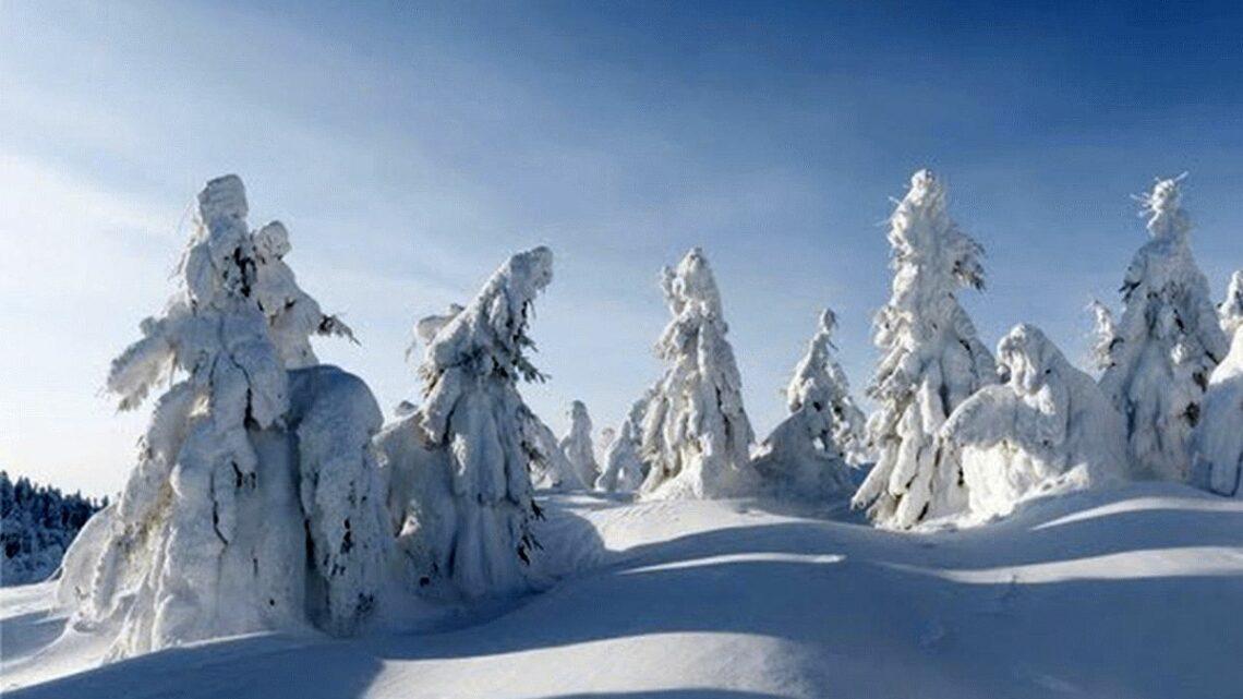 Schnee Deutschland 2021
