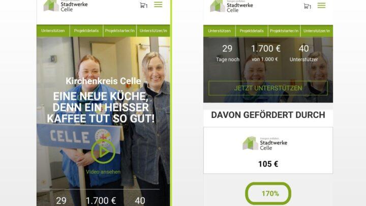 Celle-Crowd – Sensationserfolg auf der Celle Crowd – in nur 4 Tagen 170% Zielerfüllung