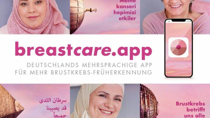 Kostenlose mehrsprachige breastcare App startet am Weltfrauentag 2021