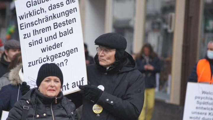 """""""Nehmen die Demonstranten die Realität nicht wahr?"""""""